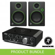 Mackie CR3 and Onyx 1.2 Artist Home Studio Recording Bundle