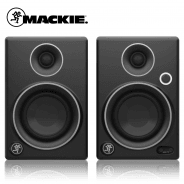 Mackie CR3 Limited Edition and Komplete Audio 1 and Cables Bundle