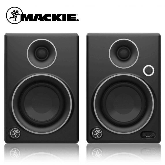 Mackie CR3 Studio Monitors - Limited Edition Silver (Pair) - B Stock (Not In Original Box)