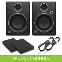 Mackie CR4 Limited Edition Pads & Cables Bundle