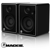 Mackie CR4-X Studio Monitors - Limited Edition Silver (Pair)
