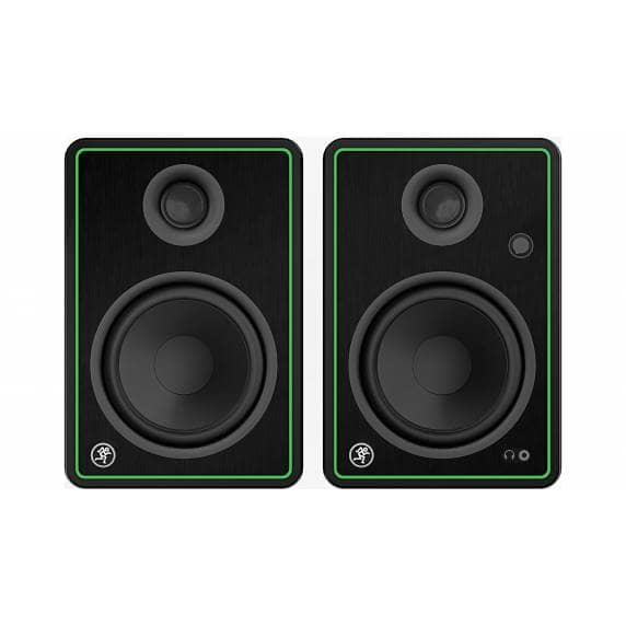 "Mackie CR5-X 5"" Creative Reference Active Studio Monitors with Pads and Cables (Pair)"