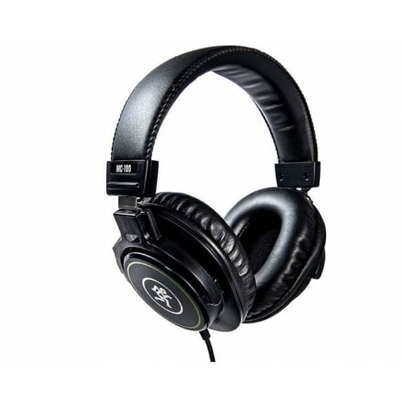 Mackie MC-100 Closed-Back Professional Headphones - Black