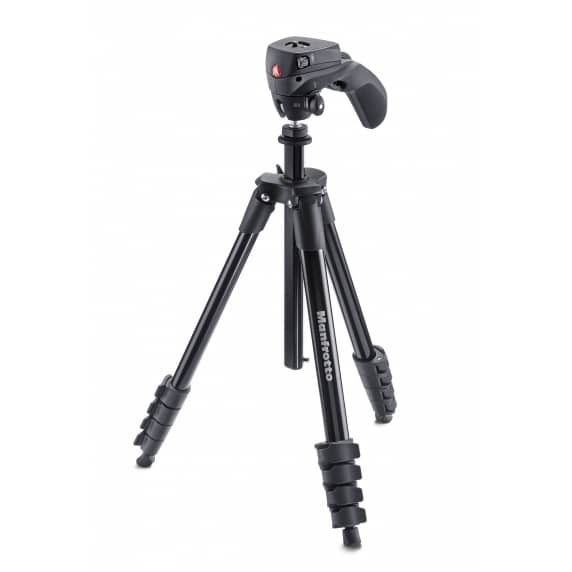 Manfrotto Compact Action Tripod Stand - Black