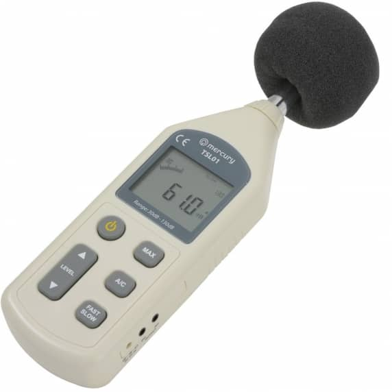 Mercury Digital Sound Level Meter