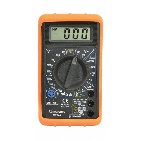 Mercury MTB01 Digital Multimeter / Multitester