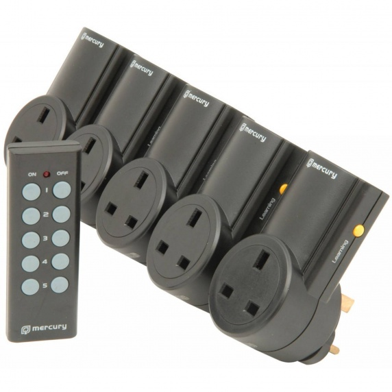 Mercury Remote Control Plug Adaptors - 5 Pack