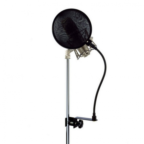 Microphone Pop Shield / Pop Filter for Vocalists - LD Systems D914