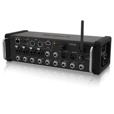 midas mr12 digital ipad mixer midas from inta audio uk. Black Bedroom Furniture Sets. Home Design Ideas