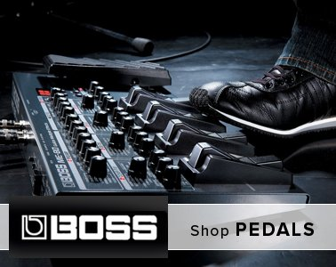 BOSS Guitar Effects - Pedals - Switches