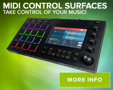 Midi Control Surfaces - Take control of your music!