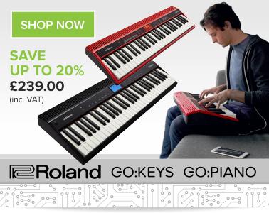 Buy Roland GO Keys & GO Piano Free Delivery | Inta Audio