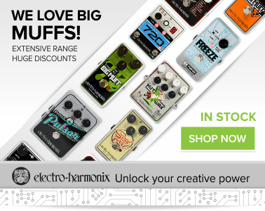 Buy Electro-Harmonix Guitar Effects Pedals | Inta Audio
