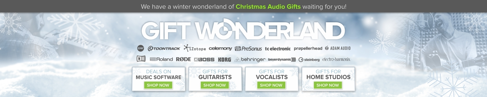 Christmas Gift Ideas for Musicians