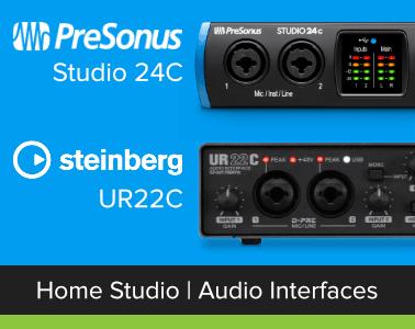 Home Studio Audio Interfaces