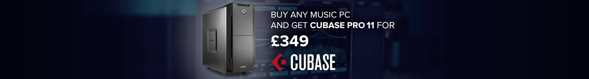 Buy Any Music PC and get Cubase 11 Pro for £349