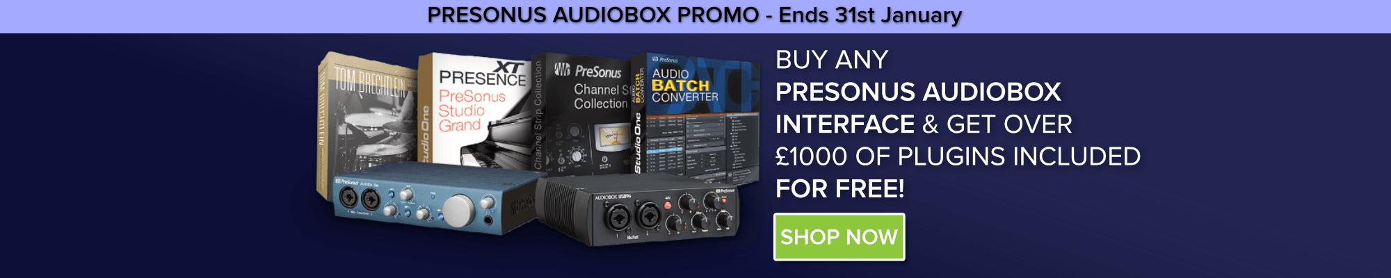 PreSonus Audiobox Promo