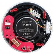 """Monacor EDL-62HQ High Performance 6.5"""" 30W 100V/8Ohm Ceiling Speaker"""