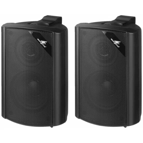 Monacor EUL-30/SW 30W Premium Compact Wall Speakers (Pair)