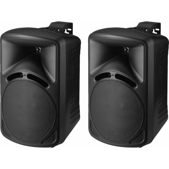 Monacor PAB-68/SW High-Quality PA Speakers, 40W, 8 Ohm (Pair)