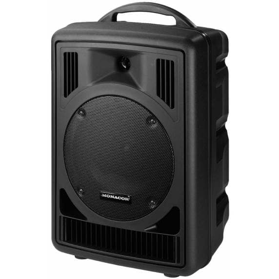 Monacor TXA-800CD Portable Amplifier and Speaker with CD Player (80W)