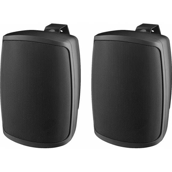 Monacor WALL-04/SW Weatherproof PA Wall Speakers, 8ohm (Pair)