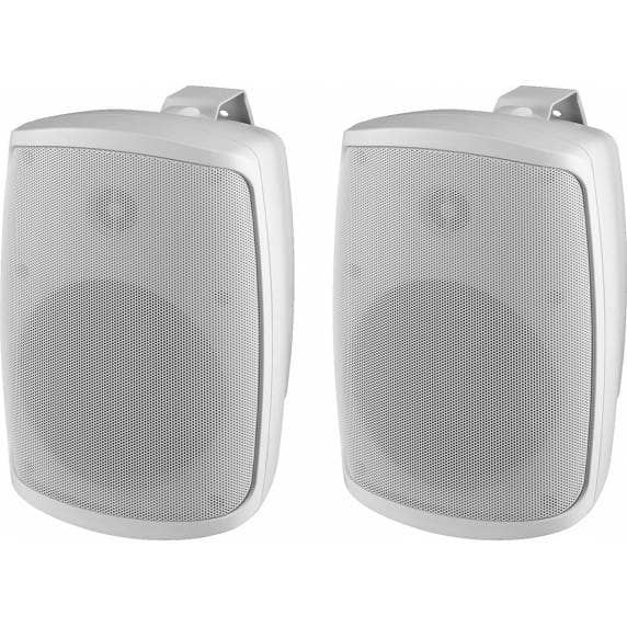 Monacor WALL-04/WS Weatherproof PA Wall Speakers, 8ohm (Pair)