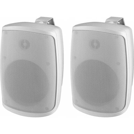 Monacor WALL-05/WS Weatherproof PA Wall Speakers, 8ohm (Pair)