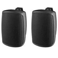 Monacor WALL-05T/SW Weatherproof PA Wall Speakers, 8ohm (Pair)