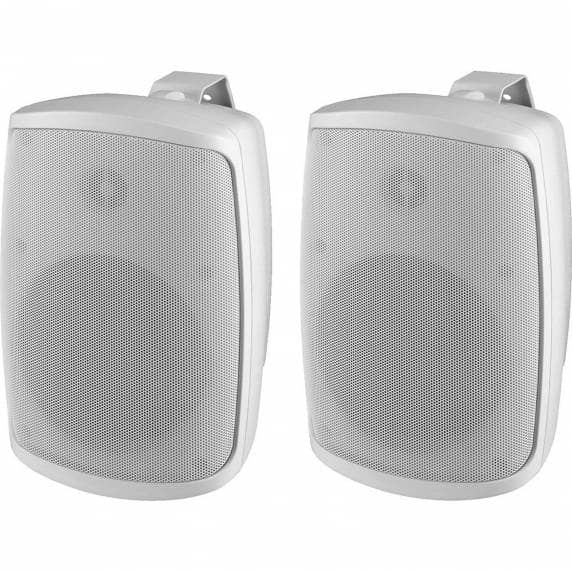 Monacor WALL-05T/WS Weatherproof PA Wall Speakers, 100V/8ohm (Pair)