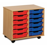 Monarch 12 Shallow Tray Storage Unit