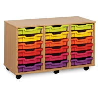 Monarch 18 Shallow Tray Storage Unit