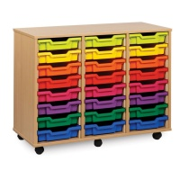 Monarch 24 Shallow Tray Storage Unit