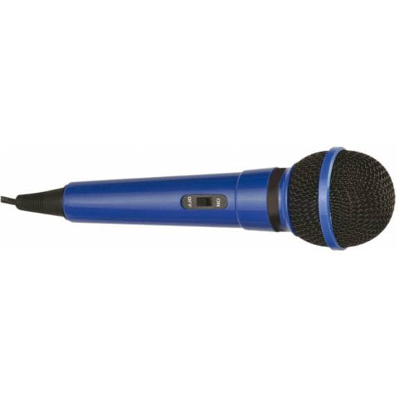 Mr Entertainer Dynamic Handheld Karaoke Microphone (Blue)