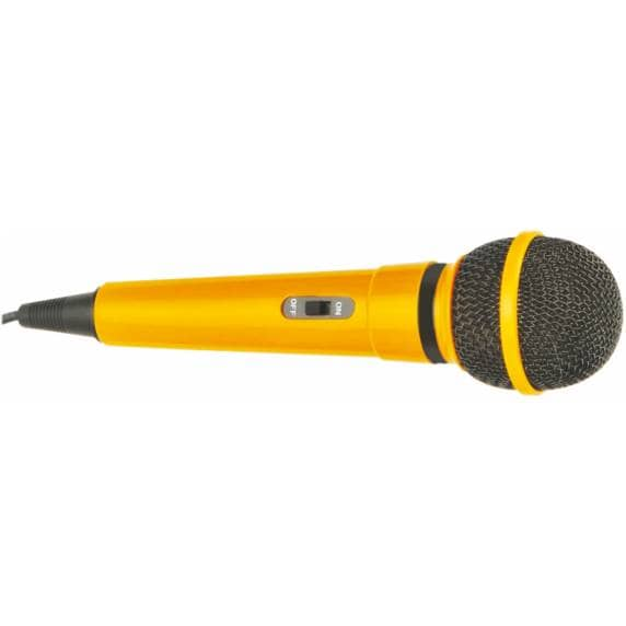 Mr Entertainer Dynamic Handheld Karaoke Microphone (Yellow)