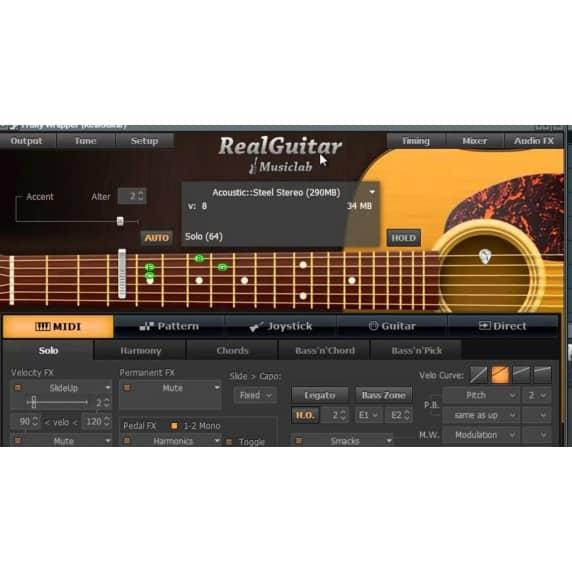 MusicLab RealGuitar 4 - Virtual Guitar Software (Serial Download)