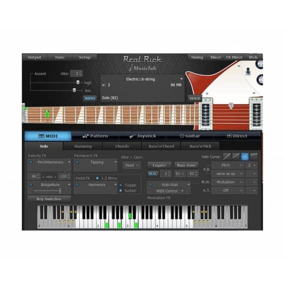 MusicLab RealRick - Rickenbacker Guitar Software (Serial Download)