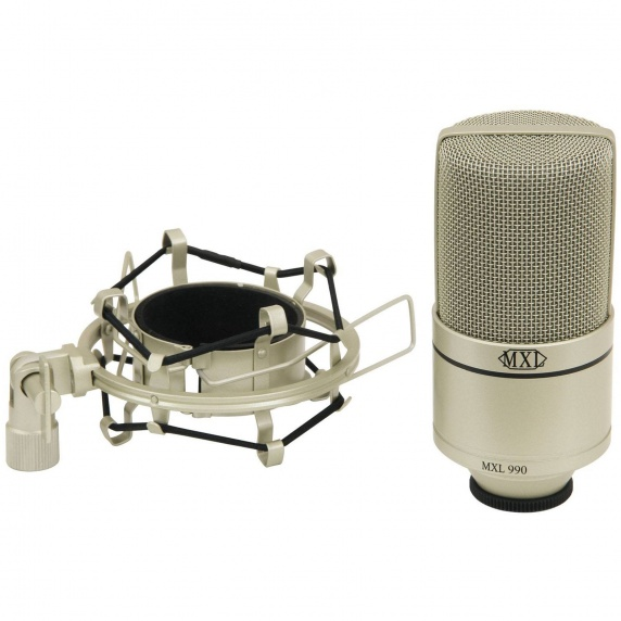 mxl 990 condenser microphone mxl from inta audio uk. Black Bedroom Furniture Sets. Home Design Ideas