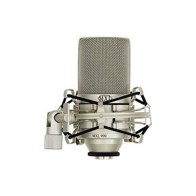 mxl 990 condenser microphone mxl from inta audio uk. Black Bedroom Furniture Sets. Home Design Ideas