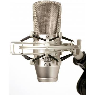 mxl v88 studio condenser microphone. Black Bedroom Furniture Sets. Home Design Ideas