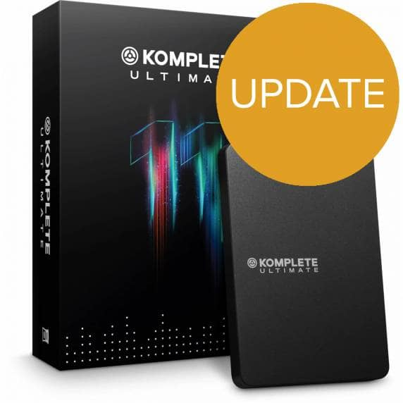 Native Instruments Komplete 11 Ultimate UPDATE (K8U-K10U) (Boxed)