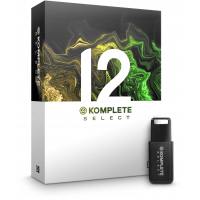 Native Instruments Komplete 12 Select & FREE Samson HP10 Headphones