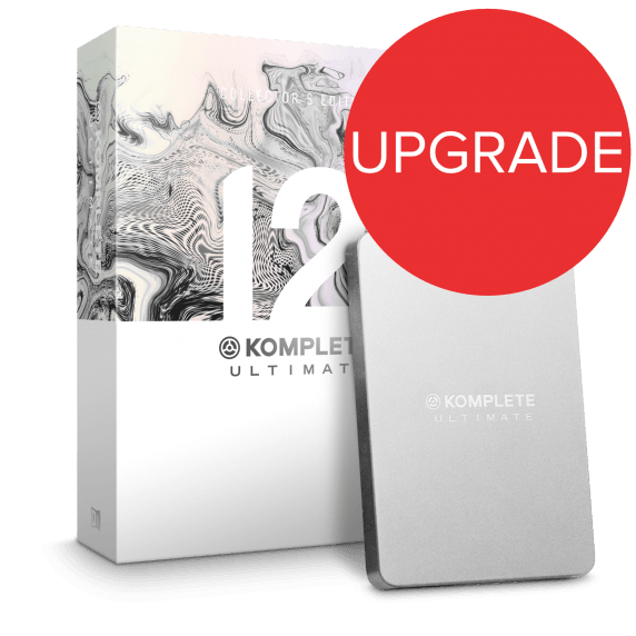 Native Instruments Komplete 12 ULT Collector's Edition UPG from KU8-12 (Boxed)