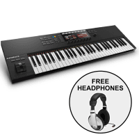 Native Instruments Komplete Control S61 MK2 & FREE Samson HP10 Headphones