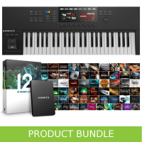 Native Instruments Komplete Kontrol S49 MK2 & Komplete 12 Bundle