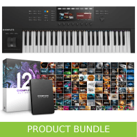 Native Instruments Komplete Kontrol S49 MK2 & Komplete 12 ULTIMATE Bundle