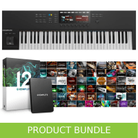 Native Instruments Komplete Kontrol S61 MK2 & Komplete 12 Bundle