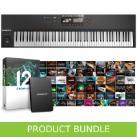Native Instruments Komplete Kontrol S88 MK2 & Komplete 12 Bundle