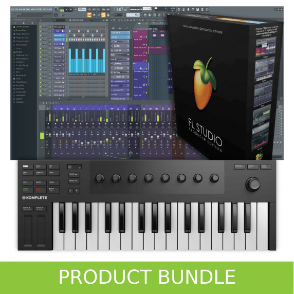 Native Instruments Kontrol M32 & FL Studio 20 Producer Bundle