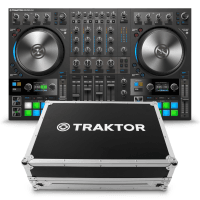 Native Instruments Traktor Kontrol S4 MK3 & Flight Case